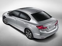 Honda civic facelift 2013