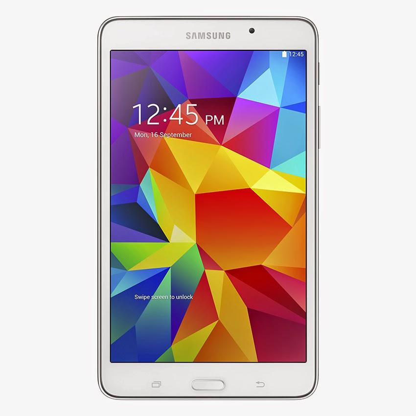 Harga Dan Spesifikasi Samsung Galaxy Tab 4 Keluaran Terbaru, Dengan CPU Processor Quad-Core 1.2 GHz