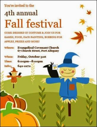 10-31 Fall Festival Port Allegany