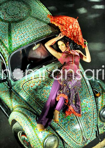 Beauteous and exotic prints lawn