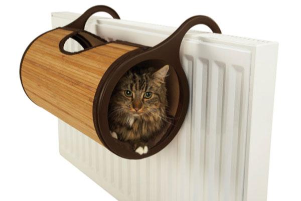 Cama radiador gato