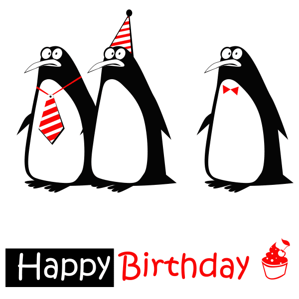 Triple Penguin Birthday