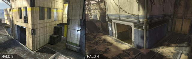 pit graphics difference halo 4 and 3