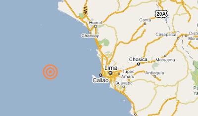 temblor en lima el 19 febrero 2011
