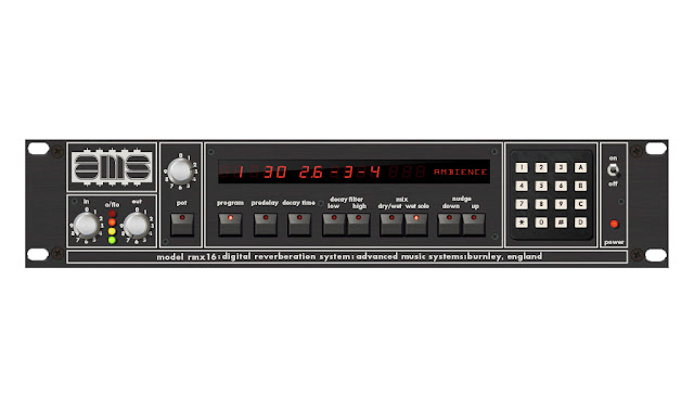 AMS Neve: AMS RMX16 Digital Reverb Plug-In For UAD-2 Platform