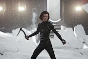 A atriz Milla Jovovich, que interpreta Alice em Resident Evil 5: Retribuição .