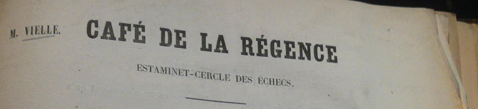 Le Café de la Régence