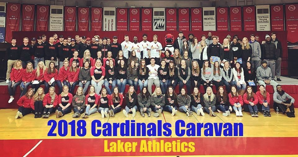2018 Cardinals Caravan (Laker Athletics)