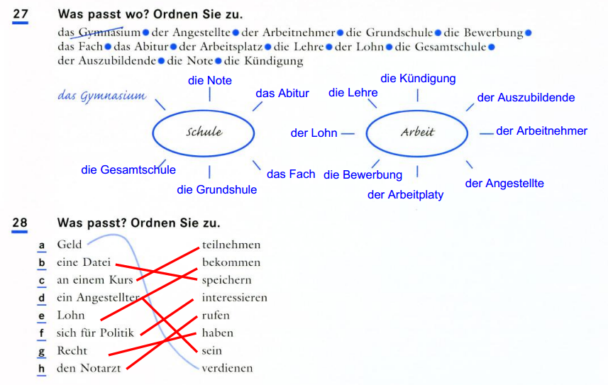 KOMMUNIKATION 1 MODERNE SPRACHEN - DEUTSCH: ARBEITSBLATT 4 - ACT 2 ...