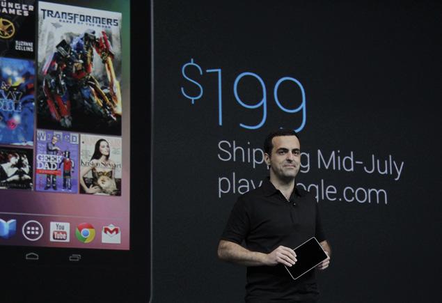 Google Nexus 7 Cost
