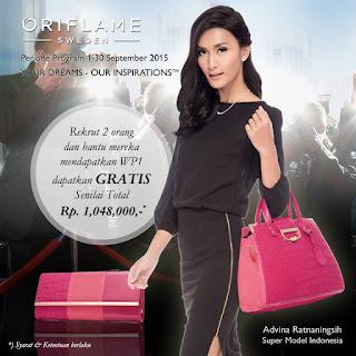 Daftar Member Oriflame Manado HANYA Rp 9.900 September 2015