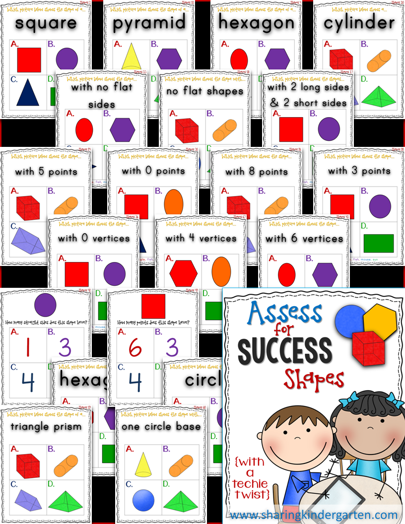 http://www.teacherspayteachers.com/Product/Assess-for-Success-Shapes-1334579