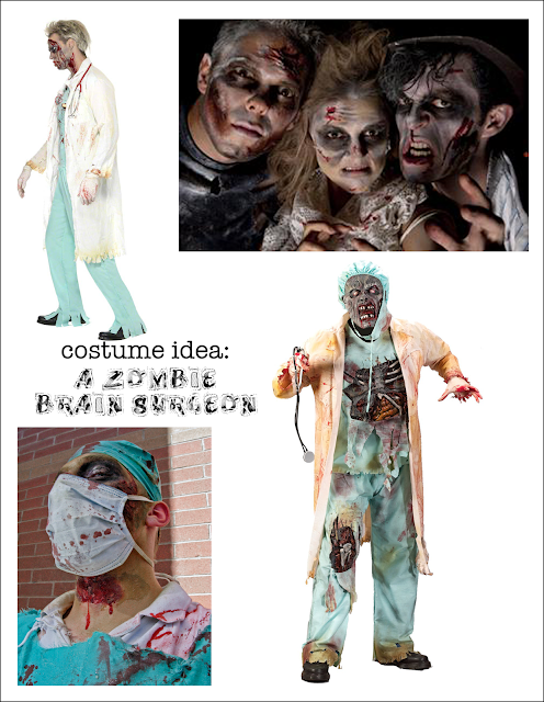 living with ThreeMoonBabies | costume idea: A Zombie Brain Surgeon