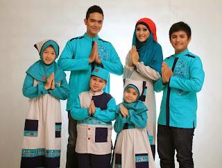 Baju muslim couple untuk keluarga dannis