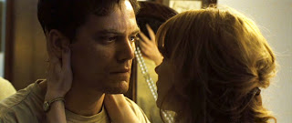 Shannon with co-star, Jessica Chastain, in TAKE SHELTER
