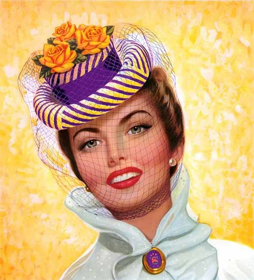 Lou Shabner | American Pin-up painter