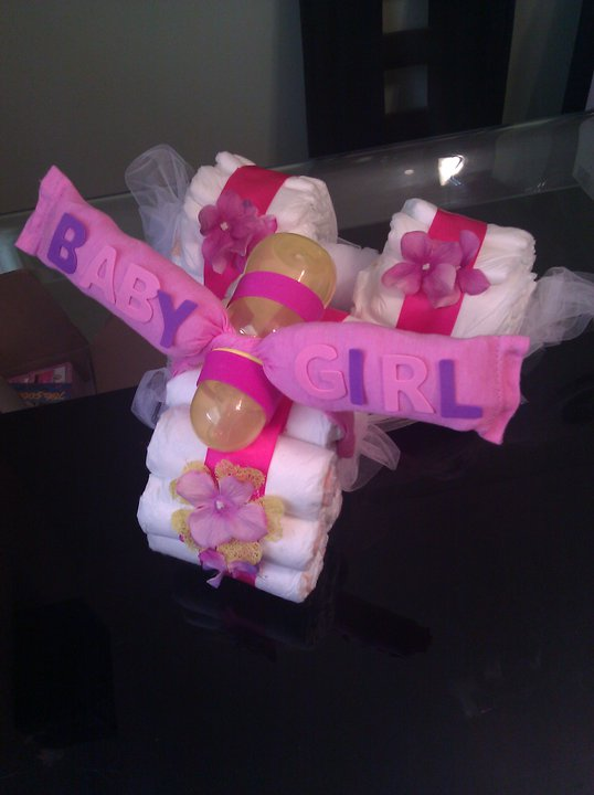 DIAPER CAKE TRICYCLE