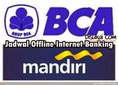 jadwal offline bank bca mandiri bri bni