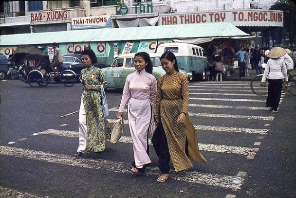 Ảnh đẹp về cuộc sống người Sài Gòn Xưa