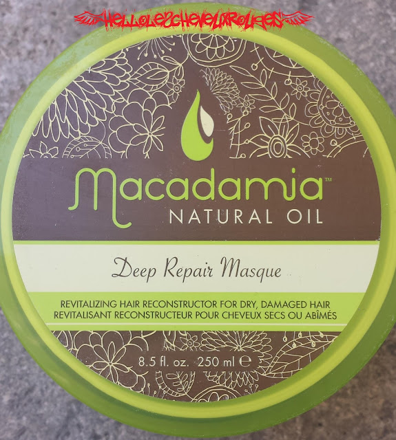 Pot Macadamia Deep Repair Masque vue du dessus www.hellolescheveuxrouges.com