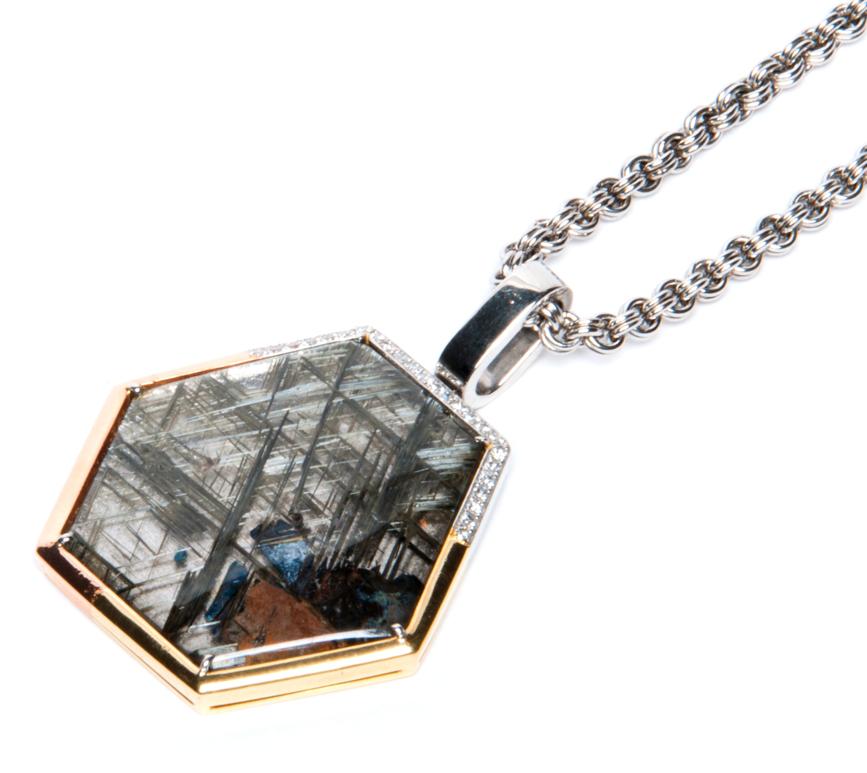 Alan Friedman Company Beverly Hills Jewelry: Men\'s Rutilated ...