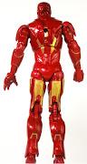 2010 Hasbro Movie Series #10 Iron Man 2 Iron Man Mark VI