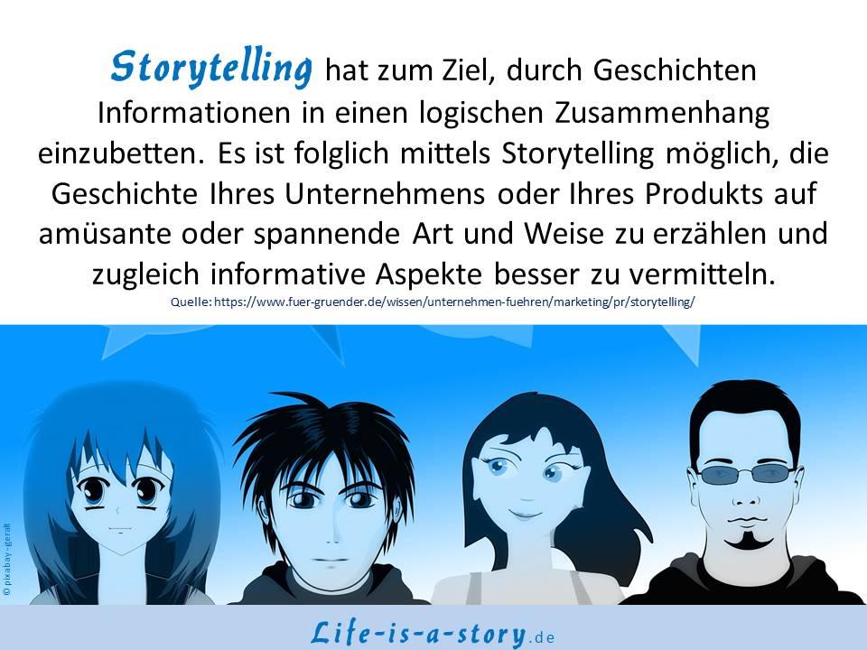 Das Ziel von Storytelling