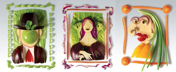 Magimix vegetable art ads