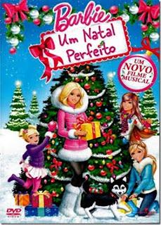 Filme Poster Barbie Um Natal Perfeito DVDRip XviD & RMVB Dublado