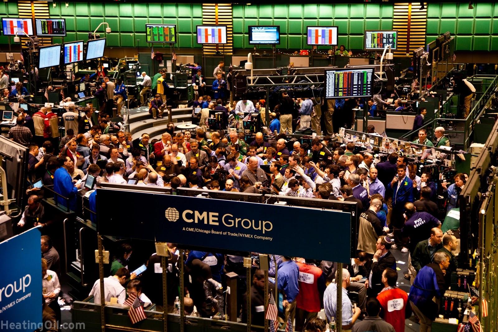 Open outcry options trading