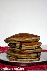 Melissa's Cuisine: Banana Bread Pancakes