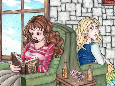 Hermione Granger y Luna Lovegood