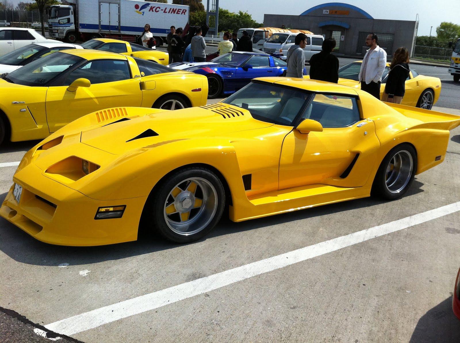 West Coast Corvette >> Wide Wheels On C3 Corvette | Autos Post