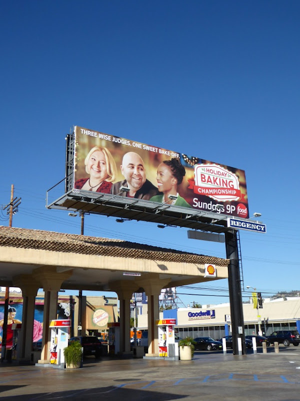 Holiday Baking Championship billboard