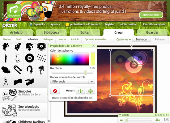 40 sitios para editar tus fotos online - Para disenar fotos ...