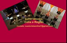 Buffet Miranda Cotia e Região