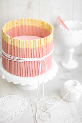 pinterest cake, sprinkle bakes, recipe, pocky, pinterest dessert