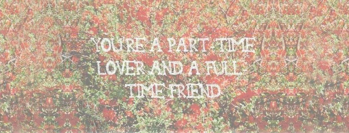 Si todo es una foto, yo quiero estar al lado tuyo.