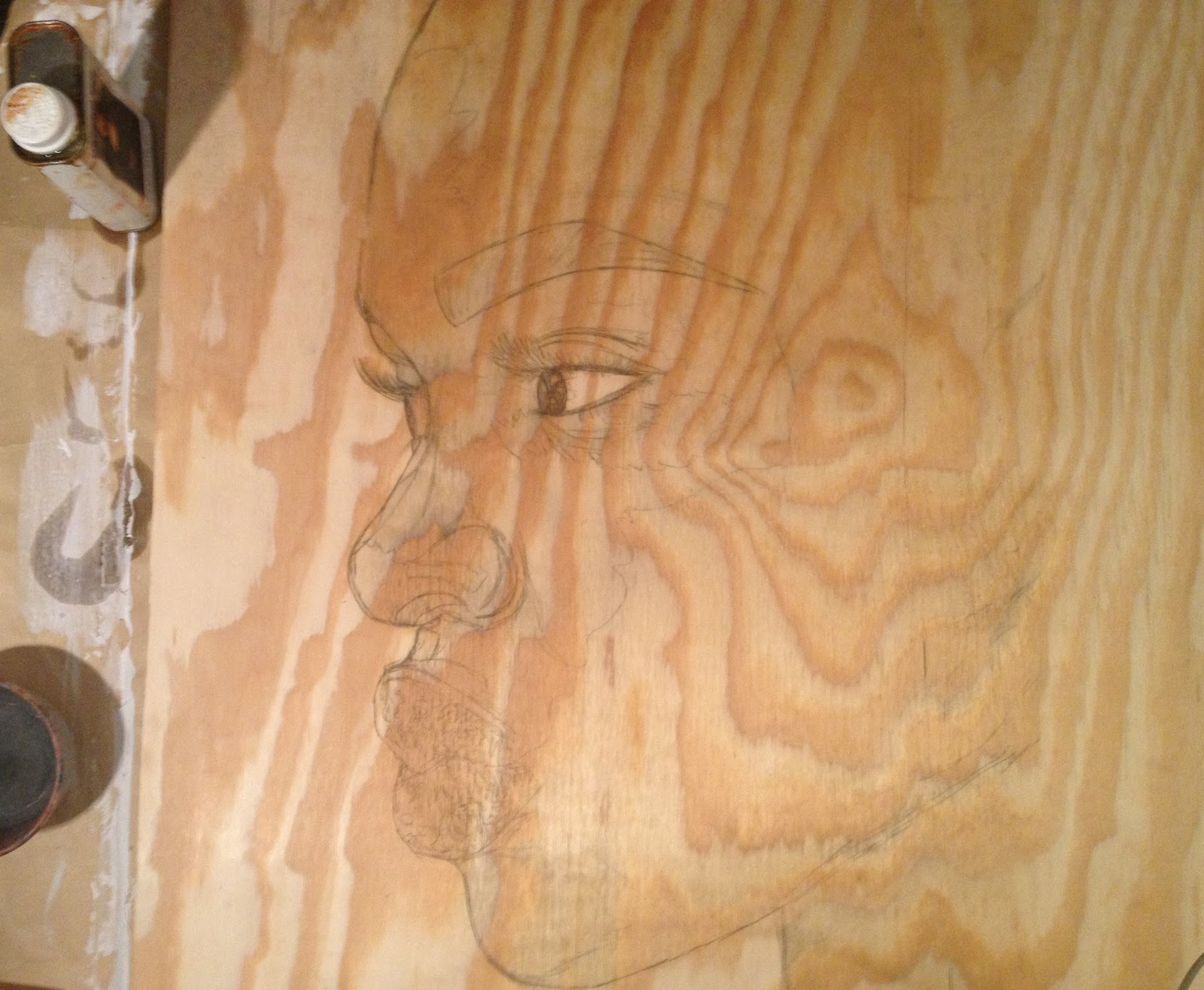 Hardboard Panel For Painting ~ Painting on hardboard or wood chichisart