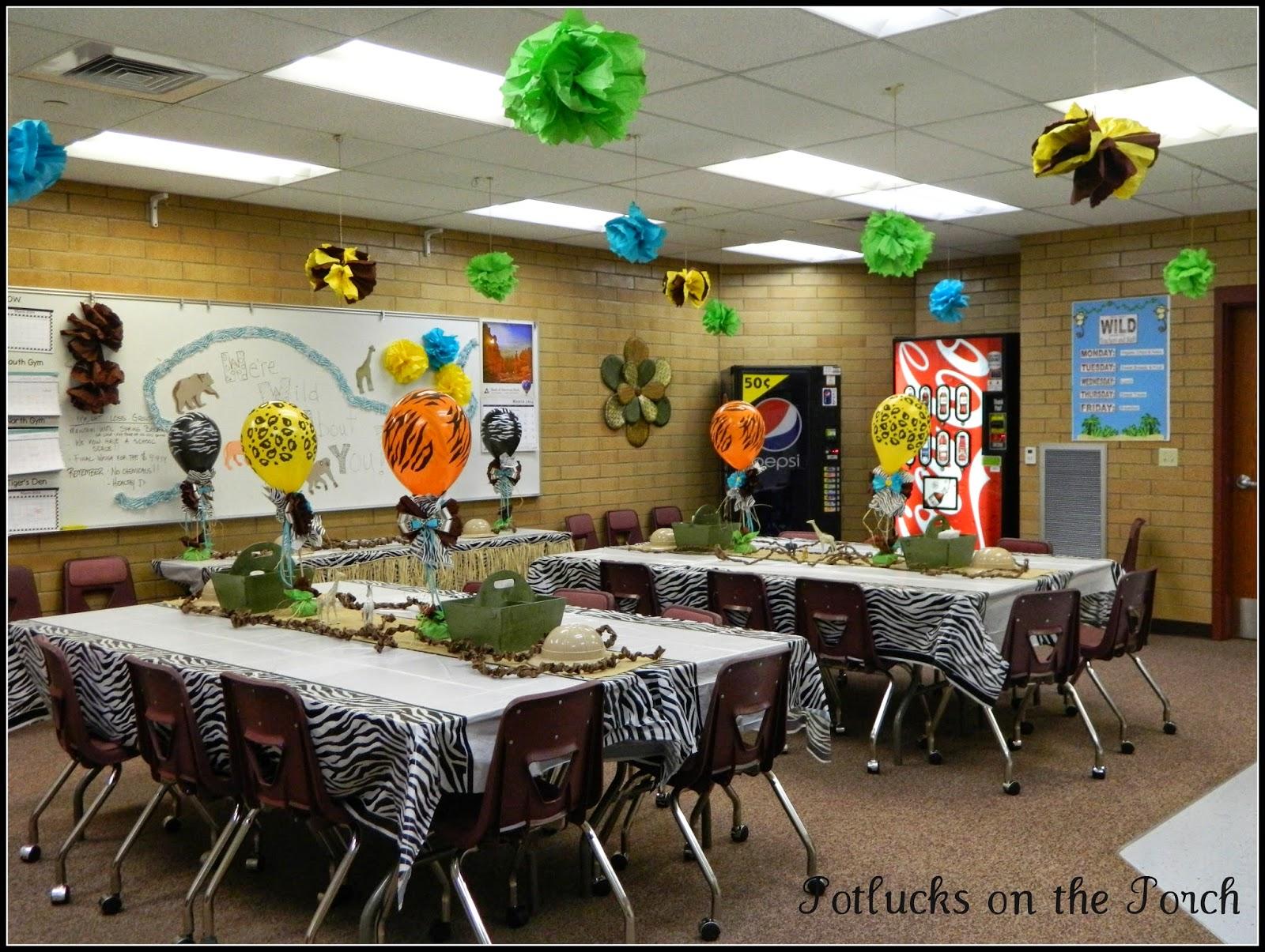 Potlucks on the Porch: Teacher Appreciation Decorations