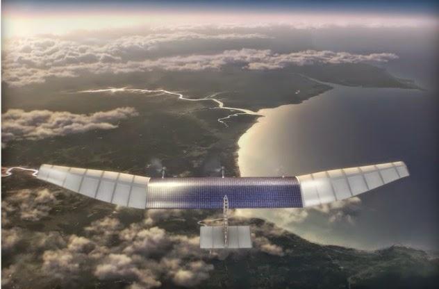 Το Facebook το καλοκαίρι θα πραγματοποιήσει τις δοκιμαστικές πτήσεις των drones τροφοδοτούμενων με ηλιακή ενέργεια για τη σύνδεση στο Διαδίκτυο.