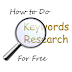 How to Do Keywords Research For Free