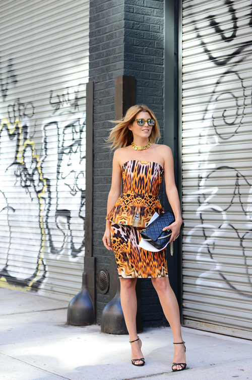 Diddy Cas Street Style New York Fashion Week 2014