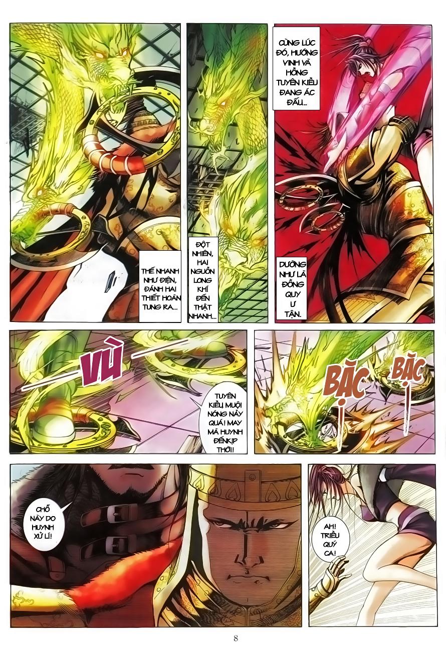 Tân Tác Như Lai Thần Chưởng chap 8 - Trang 10