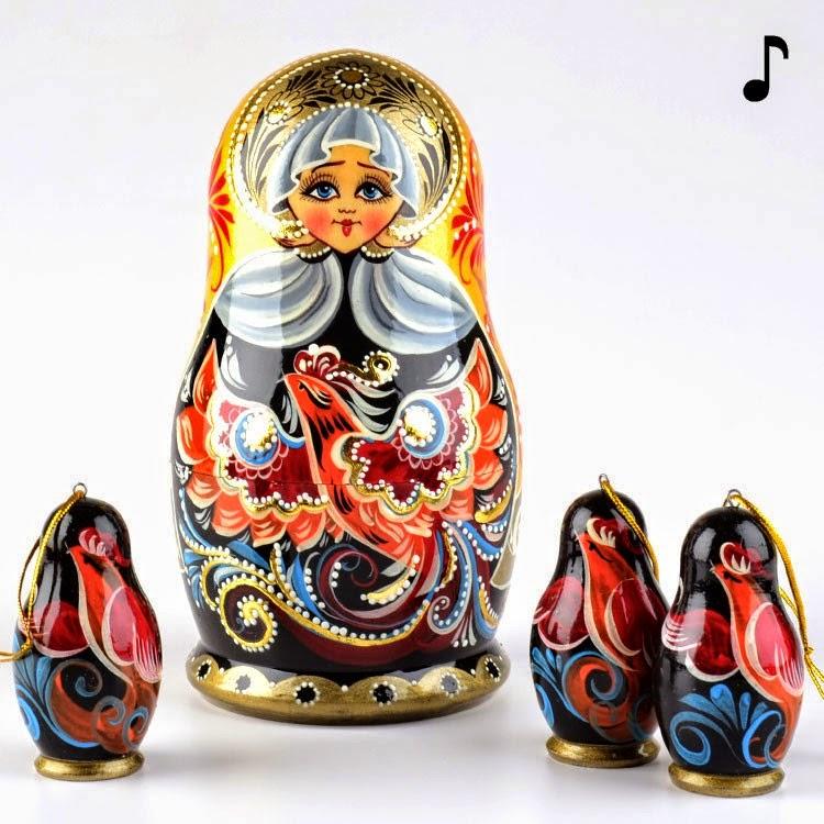 Musical Nesting Doll