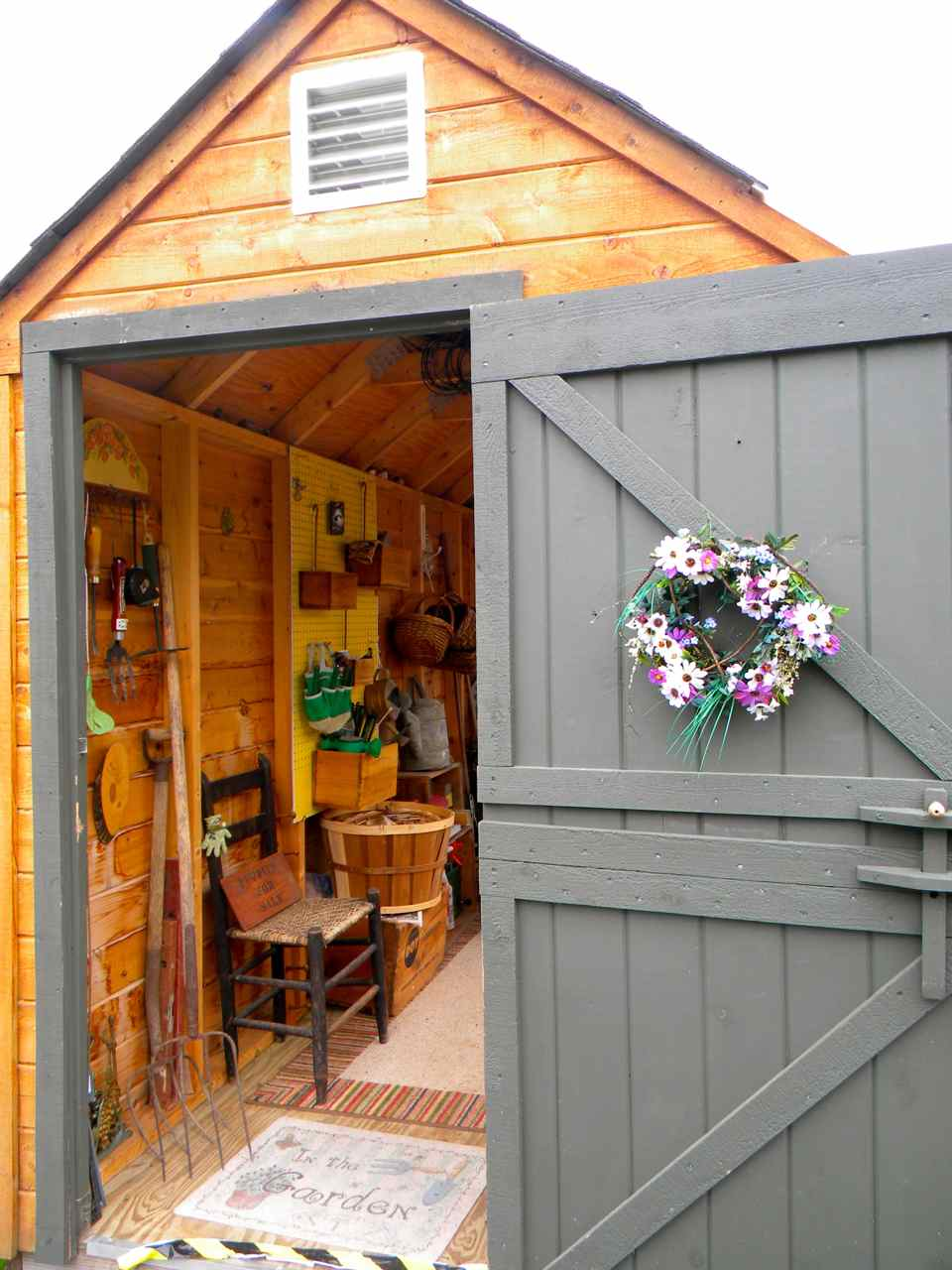 Pam 39 s english cottage garden the potting shed garden - Cottage garden shed pictures ...