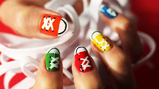 Cute Nail Designs Converse