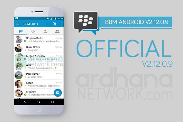 BBM Official V2.12.0.9 - Update Terbaru 28 Januari 2016