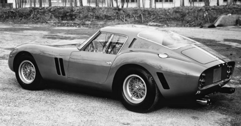 Ferrari 250 GTO, um dos carros mais conceituados na história do automobilismo