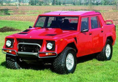 lamborghini truck - LM 002 1